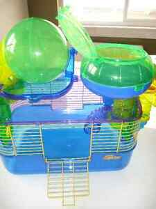 Cage; hamster, gerbil, mouse