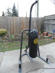 70 lb Heavy Bag With Stand