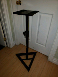 Monitor speaker stands audio recording $63.25