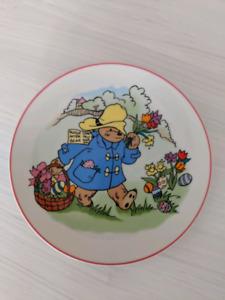 Paddington Bear 1980 Collector Plate