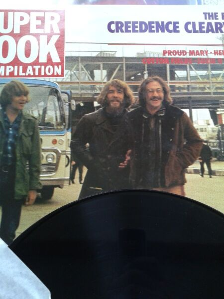 Creedence Clearwater The Fantastic Creedence Clearwater Story,lp F,86