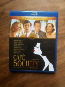 Woody Allen's Cafe Society bluray disc $5