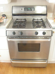 "Magic Chef 30"" Stainless Steel Gas Oven Range Stove"