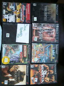 Huge ps2 selection.