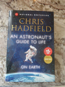 An Astronaut's Guide to Life.. by Chris Hadfield NEW SIGNED COPY