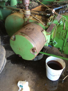 John Deere **R** for salvage