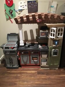 Little Tikes Kitchen and BBQ.