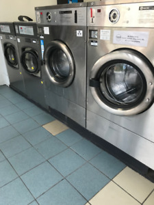 Large Capacity Commercial Front Load Washing Machines *USED*