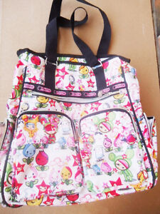 Tokidoki LeSportsac - Large Organizer Tote / Travel Bag Like New