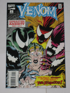 Marvel Comics Venom: Separation Anxiety#'s 1,2,3 & 4 comic book