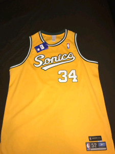 Authentic Seattle Sonics Throwback Ray Allen Jersey