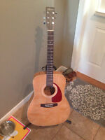 LIKE NEW Norman 6 string Acoustic Guitar