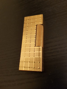 Alfred Dunhill Rollagas Vintage Gold Plated Lighter