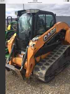 CASE TRACK LOADER TV380 LOADED WITH ONLY 435 HOURS