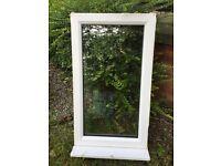 Fixed double glazed window.