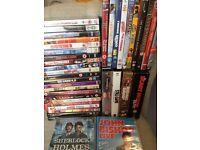 38 DVD's