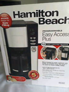 HAMILTON BEACH BRAND NEW COFFEE MAKER
