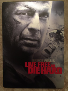 Die Hard 4: Live Free or Die Hard (DVD Steelbook) - Bruce Willis