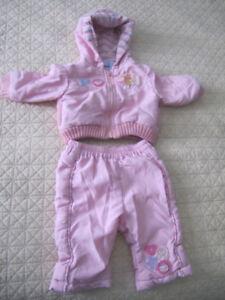 Girls Winnie the Pooh Disney Snowsuit size 3-6 months