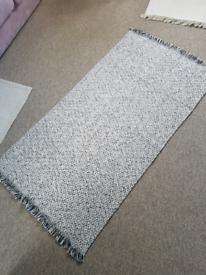 Gorgeous jute rug medium large cotton woven contemporary like new area