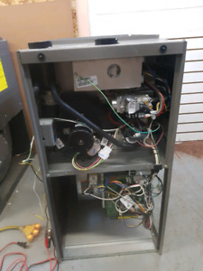 Brand new and used furnaces and air conditioners