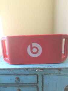 Red Beats by Dr. Dre Portable Bluetooth Speaker ($200 OBO)