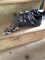 Specialized Clip-in Shoes and Pedals