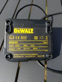 DeWALT battery charger DCB107