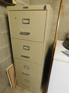 Commander 4 drawer filing cabinet.