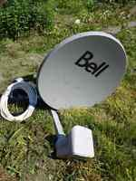 Bell satellite dish