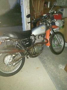 **350 Honda XL Motorcycle