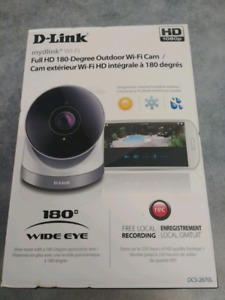 D-link 180 degree outdoor wi fi cam