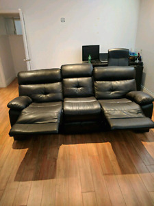 Sofa inclinable 3 places