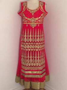 Indian/Pakistani Party wear outfits (Straight, Lehengas, Gown)