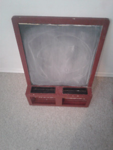 Hanging chalk board 10$ if sold today