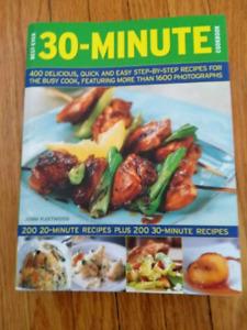 Cookbook, 400 20-30min recipes