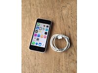 Iphone 5c. 16gb. White. Unlocked. Complete with charging wire. £70 No Offers.