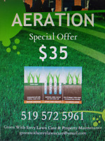 PROFESSIONAL LAWN AERATION & ROLLING - BOOK NOW FOR 2018!!!