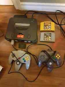 Nintendo 64 w/ expansion pack + games
