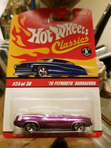Hot wheels Series 3 Classics 70 Plymouth Barracuda