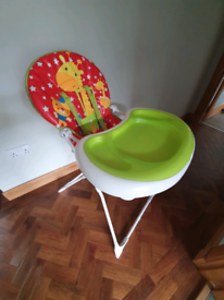 Highchair in good clean condition, smoke and pet free home