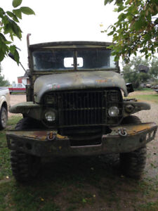 LOOKING TO TRADE 1953 DEUCE AND A HALF