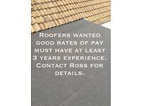Roofer needed in Essex area