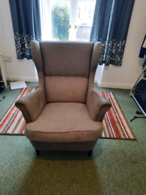 Grey armchair used good condition