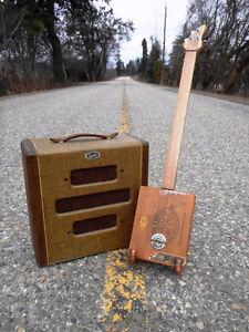 CUSTOM MADE CIGAR BOX GUITARS
