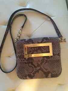 Micheal Kors Python Leather Crossbody Bag REDUCED