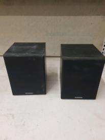 Pair of quality 8 ohm wharfedale speakers
