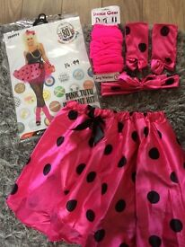 Pink tutu instant kit