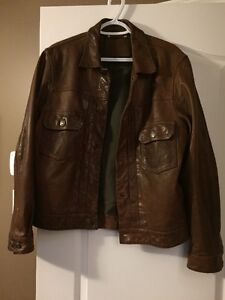 MENS COACH Leather Jacket