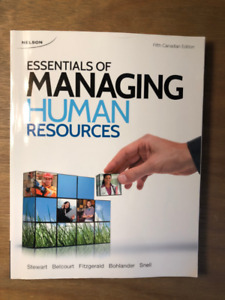Essentials of Managing Human Resources (fifth edition)
